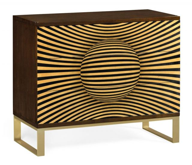 Jonathan Charles Chest of Drawers Geometric
