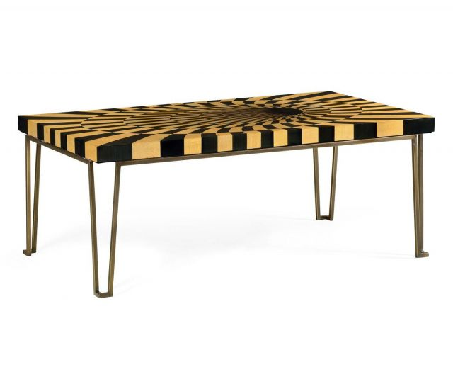 Jonathan Charles Coffee Table Geometric