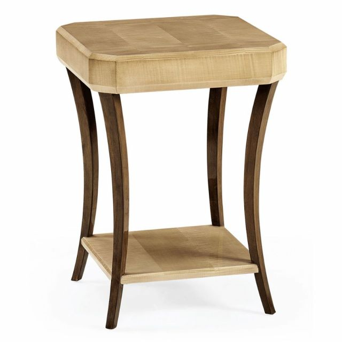 Jonathan Charles Square Side Table Art Deco