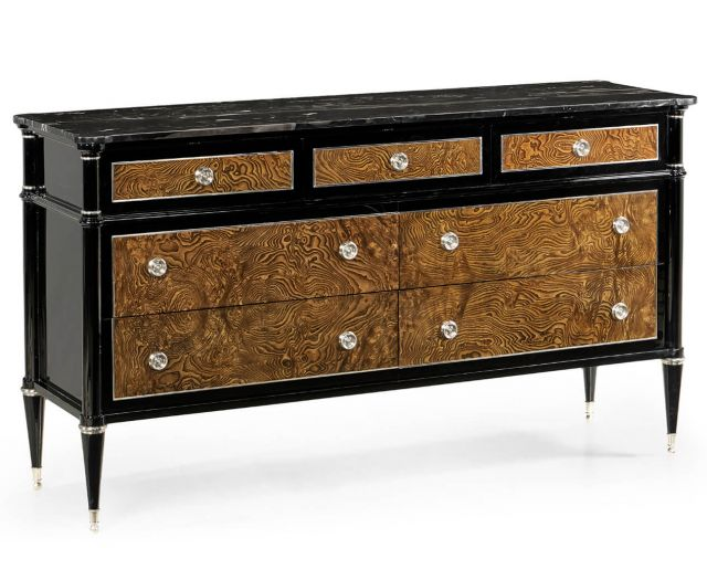 Jonathan Charles Wisconsin Dresser with Marble Top