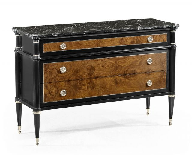 Jonathan Charles Wisconsin Chest of Drawers with Marble Top