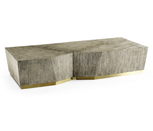 Jonathan Charles Transitional Nesting Coffee Tables