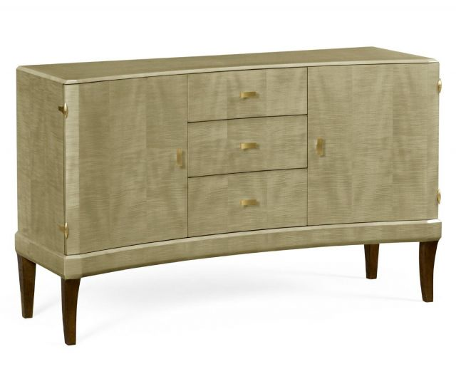 Jonathan Charles Curved Sideboard Art Deco