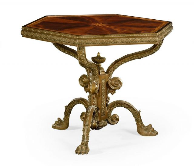 Jonathan Charles Hexagonal Centre Table Baroque