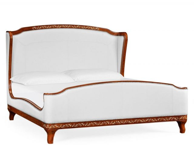 Jonathan Charles Bed Frame Louis XV in COM