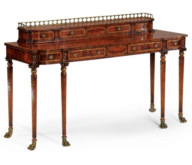 Jonathan Charles Buffet Console Table Georgian