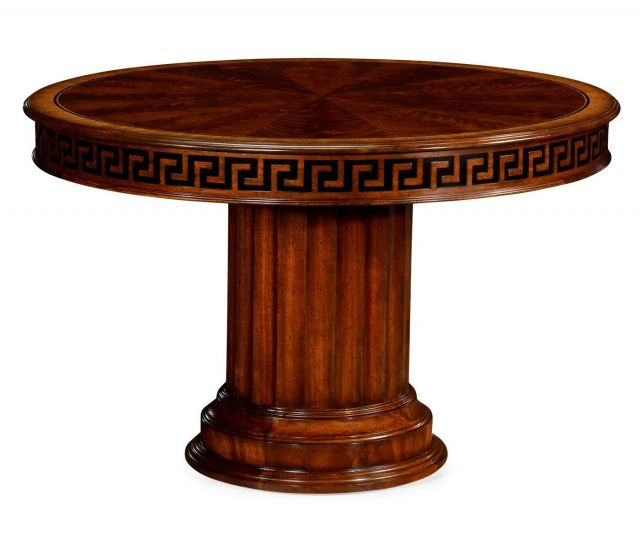 Jonathan Charles Centre Table Georgian with Greek Key Carving