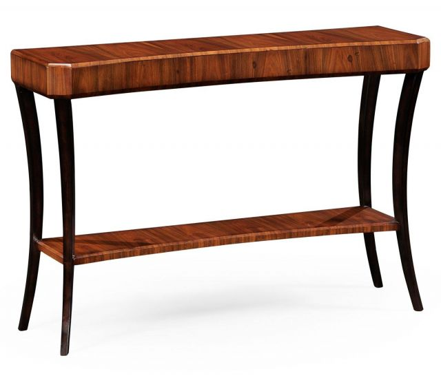 Jonathan Charles Console Table Art Deco with ebonised legs