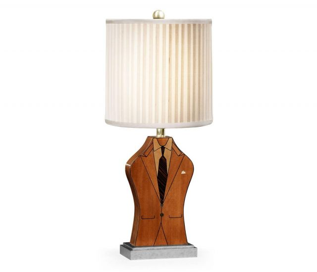 Jonathan Charles Table Lamp Dapper Man