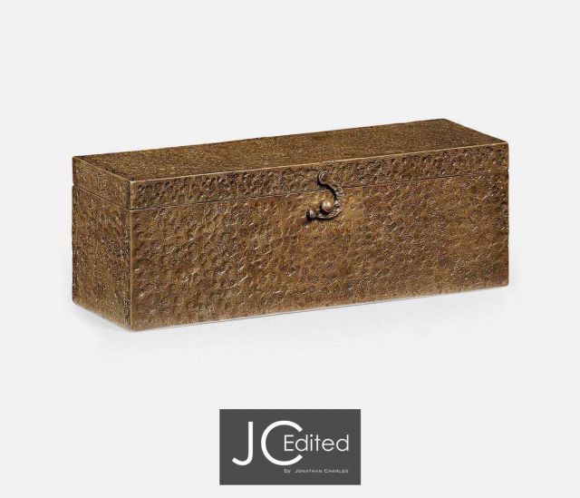 Jonathan Charles Decorative Box Industrial