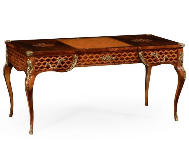 Jonathan Charles Desk Marquetry Renaissance