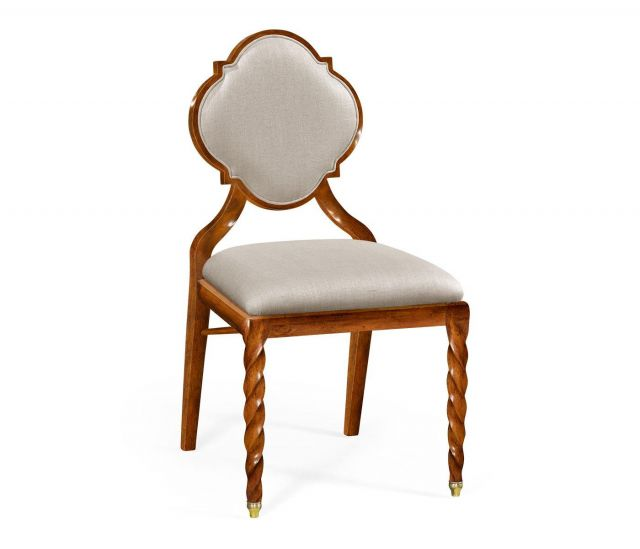 Jonathan Charles Dining Chair Barley in Walnut