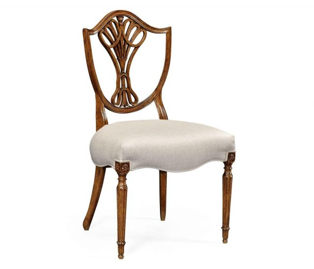 Jonathan Charles Dining Chair Sheraton in Light Mahogany