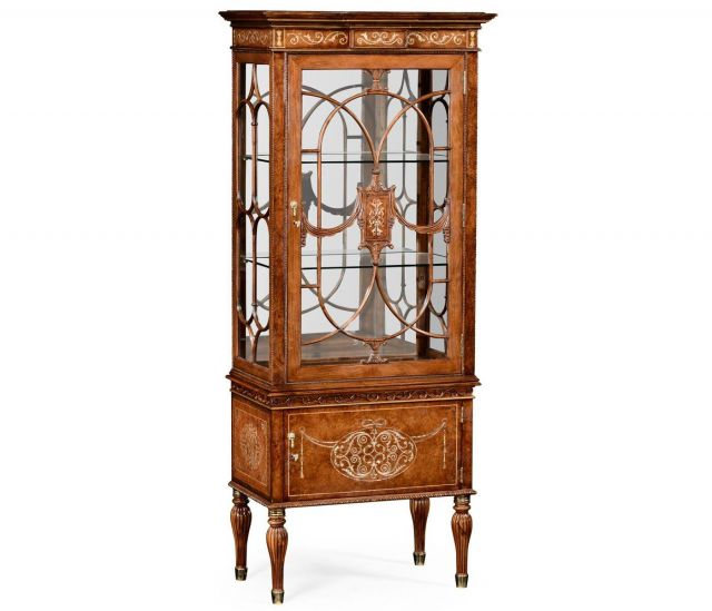 Jonathan Charles Display Cabinet Mother of Pearl