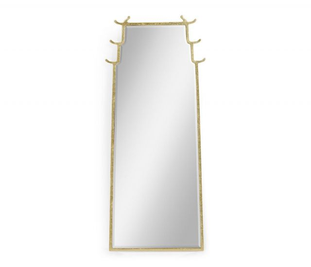Jonathan Charles Floor Mirror Asian Fusion