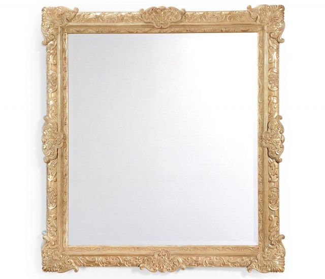 Jonathan Charles Wall Mirror Grisaille