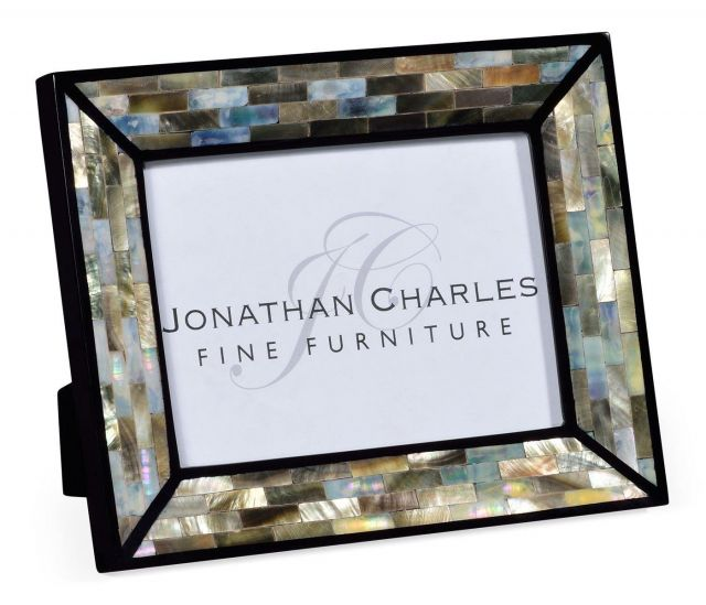 Jonathan Charles Picture Frame Mother of Pearl 5x7