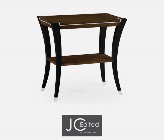 Jonathan Charles End Table American Walnut