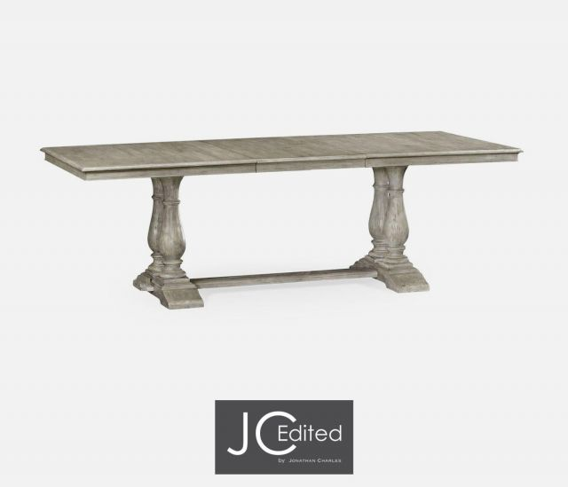 Jonathan Charles Extending Refectory Dining Table Rustic