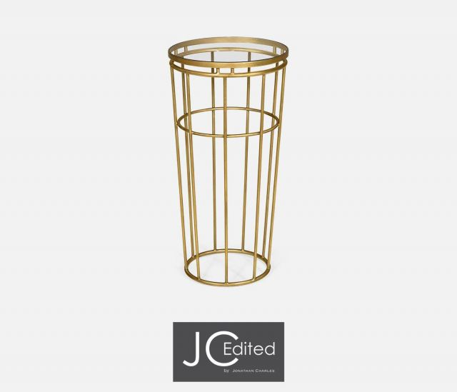 Jonathan Charles End Table Hestia in Gold