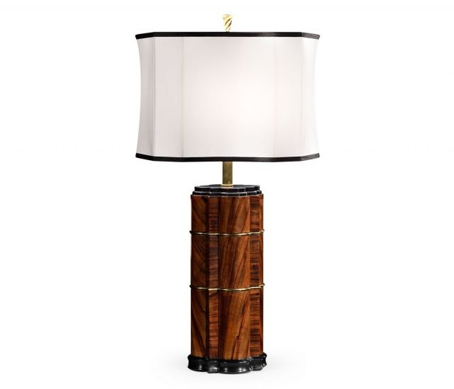 Jonathan Charles Table Lamp Geometric
