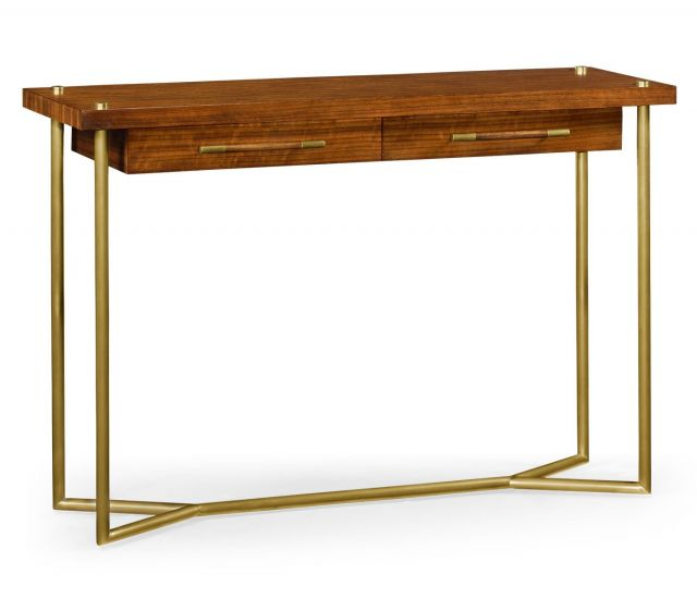 Jonathan Charles Console Table Mid Century