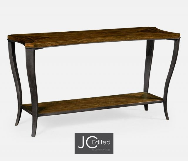 Jonathan Charles Curved Console Table Daniella
