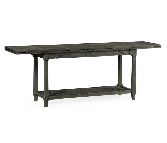 Jonathan Charles Outdoor Console Table Hunt in Grey