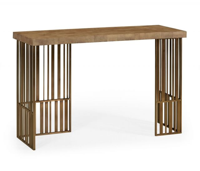 Jonathan Charles Console Table Timberwolf