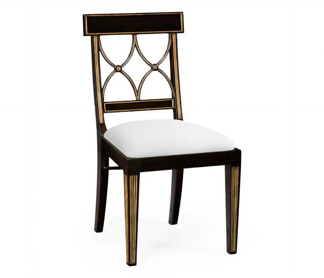 Jonathan Charles Regency Dining Chair Palace in COM