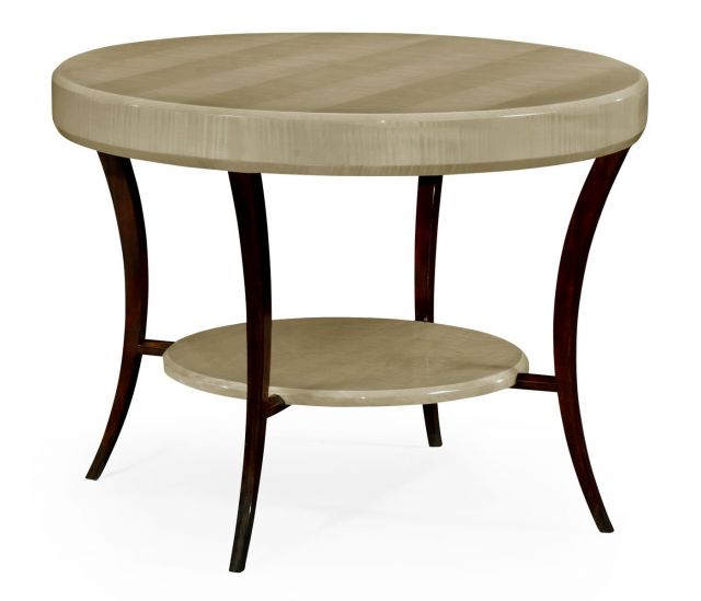 Jonathan Charles Round Centre Table Art Deco