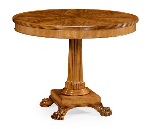 Jonathan Charles Round Centre Table Natural Alder