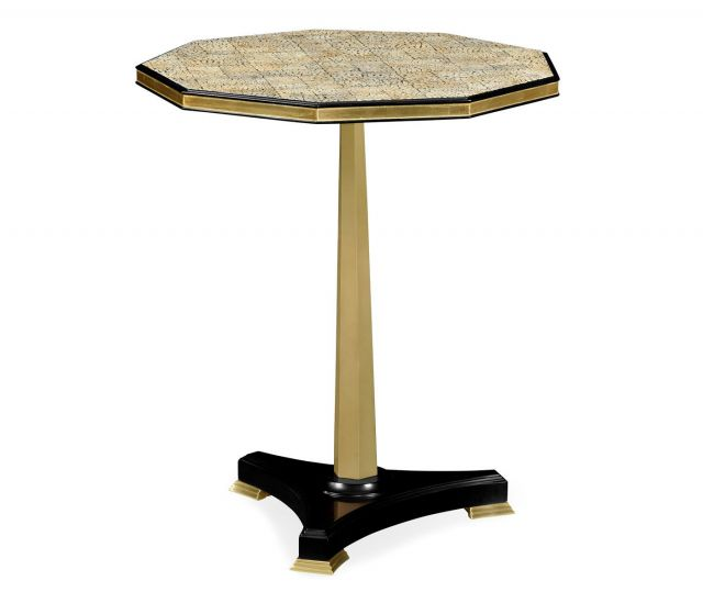Jonathan Charles Side Table Nonagon