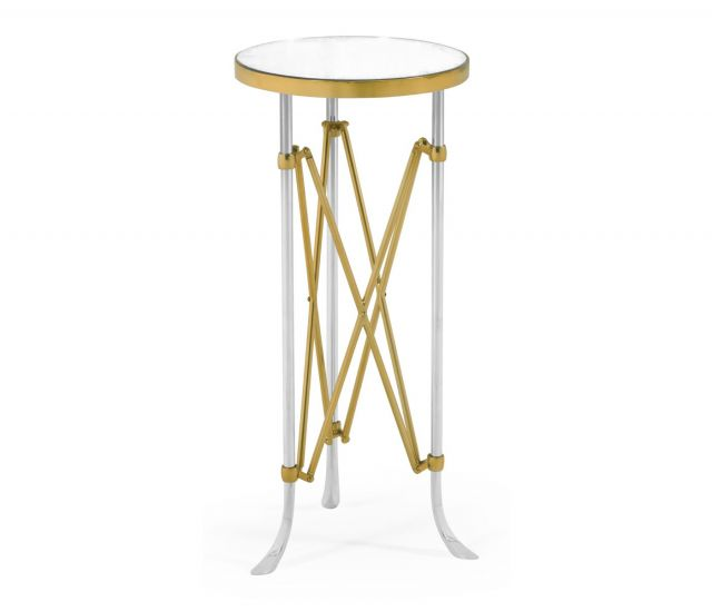 Jonathan Charles Round Accent Table Vanity