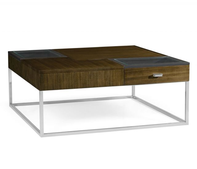 Jonathan Charles Coffee Table Autumn Walnut