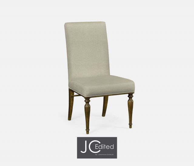 Jonathan Charles Dining Chair Crotch Walnut in Mazo