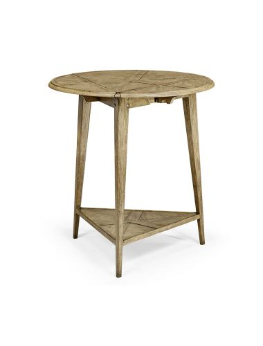 Casually Country Driftwood Fold Out Side Table | Jonathan Charles