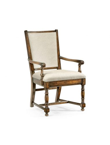 Casually Country Golden Ale Dining Armchair   Jonathan Charles