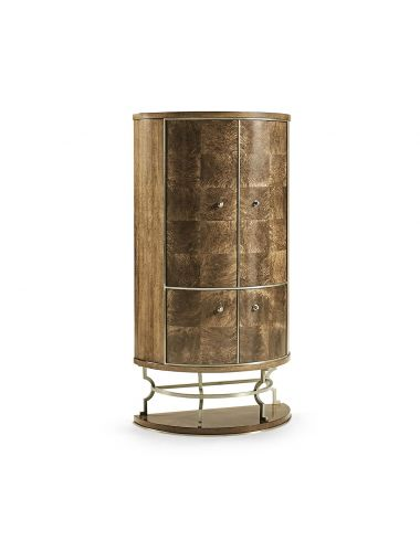 Barcelona Catalonia Home Bar Cabinet | Jonathan Charles Furniture