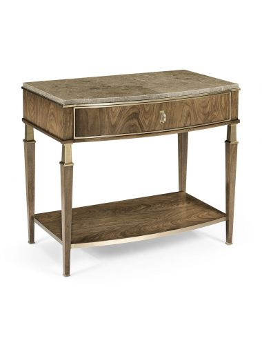Barcelona Catalonia Bedside Table with Drawer   Jonathan Charles