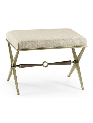 Barcelona Catalonia Upholstered Stool | Jonathan Charles Furniture