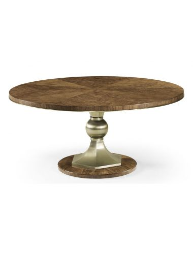 Barcelona Catalonia Walnut Veneer Dining Table | Jonathan Charles