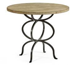 Jonathan Charles Round Bistro Centre Table Rustic