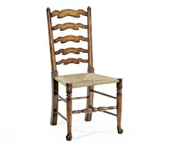 Jonathan Charles Golden Ale Ladderback Dining Chair