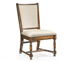 Jonathan Charles Distressed Golden Ale Dining Chair