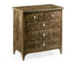 Jonathan Charles Small Bleached Mahogany Chest of Drawers