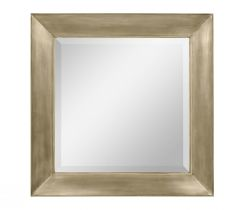 Jonathan Charles Antique Gold Square Wall Mirror - Small