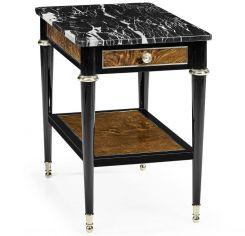 Jonathan Charles Wisconsin Side Table with Marble Top