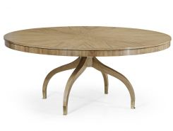 Jonathan Charles Bleached Walnut Round Dining Table