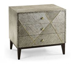 Jonathan Charles Transitional Bedside Chest of Drawers